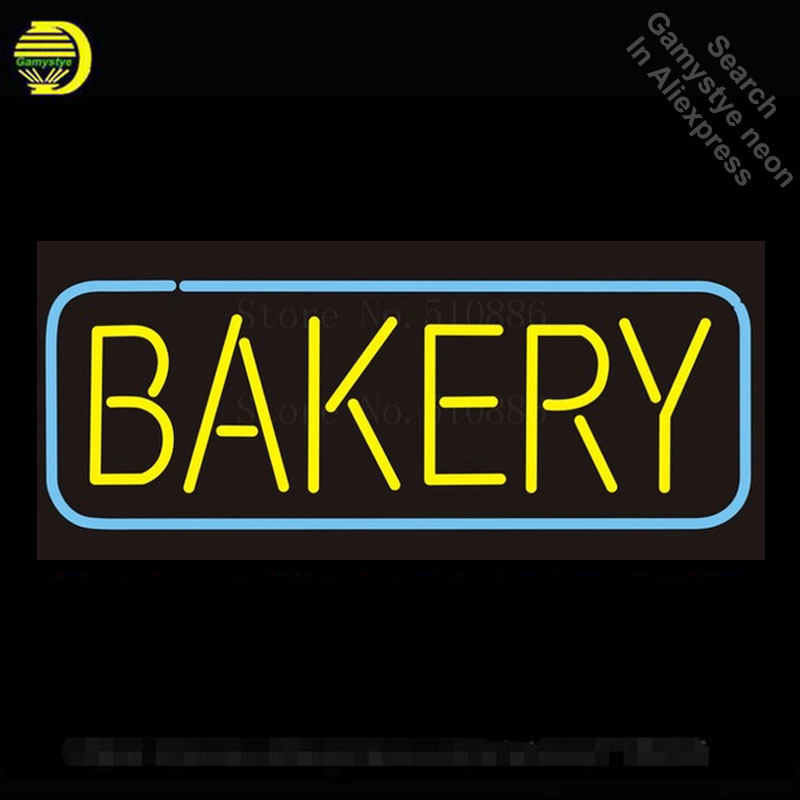 Custom NEON Sign Board Bakery Bread Food Glass Tube Beer Bar Club Pub Display Store Shop Light Signboard Signage Signs 17*14