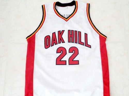 e2c395303e7 spain oak hill academy 22 carmelo anthony red swingman jersey df713 2a974