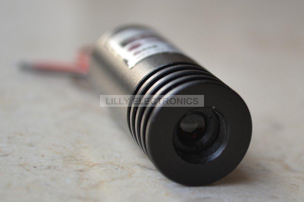 405нм 100 мВт Фиолетовый/синий Фокусируемый лазерный точечный модуль 14*45 мм