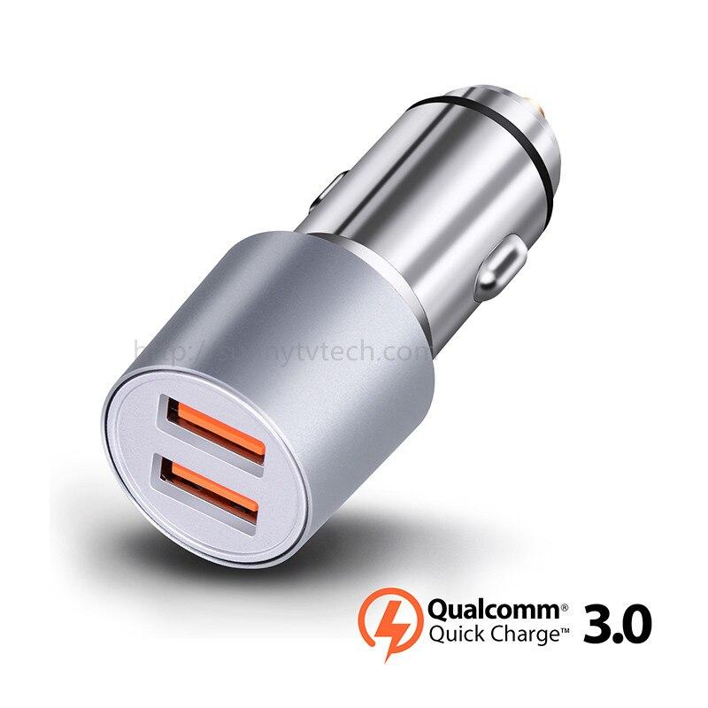 10 шт./лот Китай производителя оптом QC3.0 36 Вт 5 В/9 В/12 В USB Автомобильное зарядное устройство для phoneX phone8 S7 S6 Примечание M10 M9 Nexus 6