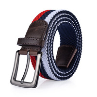 Brand Needle Buckle Men S Tactical Belts Elastic Stretch Braided Belt Men Women Jeans Pants Casual
