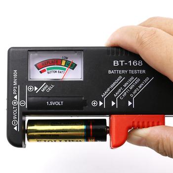 BT-168 AA AAA C D 9 V 1 5 V baterie uniwersalna komórka przycisku bateria kodowany kolorami miernik wskazuje próbnik napięcia sprawdzanie BT168 moc tanie i dobre opinie Tester Baterii gospodarstwa domowego EARUELETRIC Elektryczne