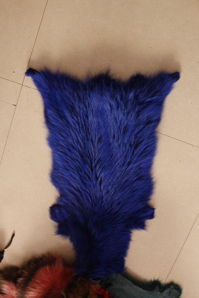 Peau de fourrure réelle/peau de raton laveur