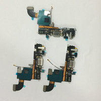 High Quality Headphone Audio Jack Connector MIC Charge Charging Dock Port Flex Cable For IPhone 6S