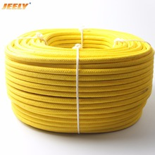 Free Shipping 300m 10mm UHMWPE Fiber Core with Polyester Jacket Anchor Towing Rope Winch Rope