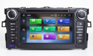 Image 4 - HIRIOT Android 10 автомобильный DVD GPS плеер для TOYOTA AURIS 07 11 Octa 8 Core 4 Гб + 64 ГБ + DSP навигации BT WI FI Мультимедиа Стерео авто