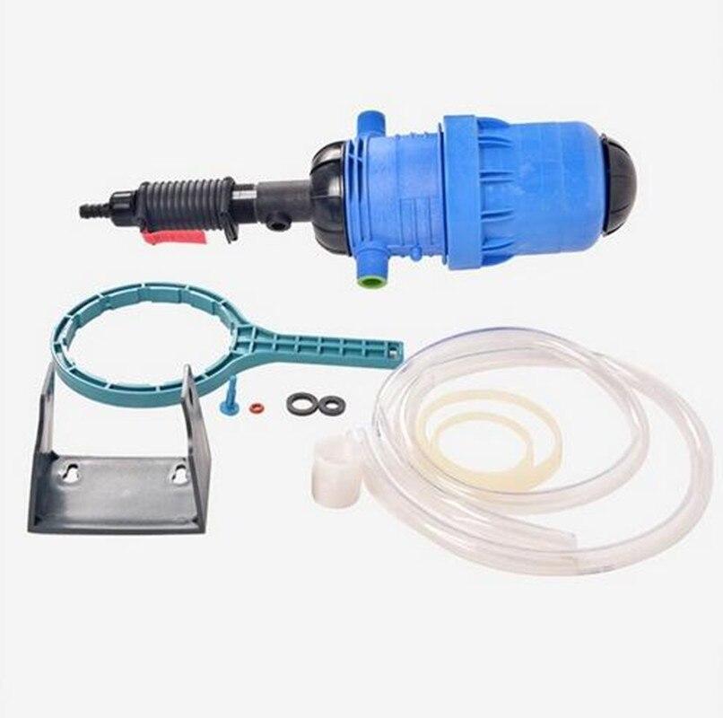 Dünger Injektor Dispenser Dosiergerät 0.4%-4% 4C-30C, wasser-angetrieben chemische injector für dünger, vieh, landwirtschaft