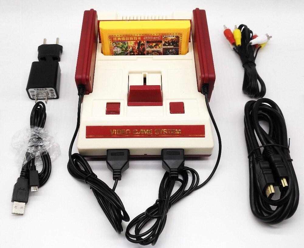 com dois gamepads 500 em 1 cartucho 121 built-in jogos