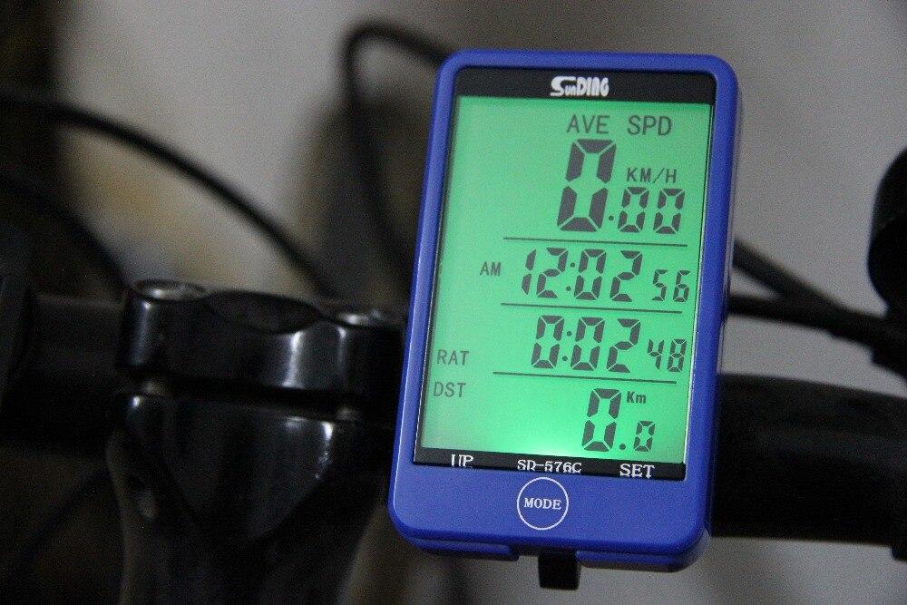 Fahrradcomputer Großes Display : Wasserdichte touchscreen wireless fahrradcomputer fahrrad zubehör