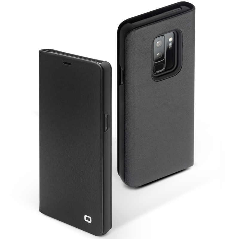 QIALINO Роскошный чехол в деловом стиле для samsung Galaxy S9, чехол из натуральной кожи с откидной крышкой для samsung S9 Plus 6,2/5,8 дюйма
