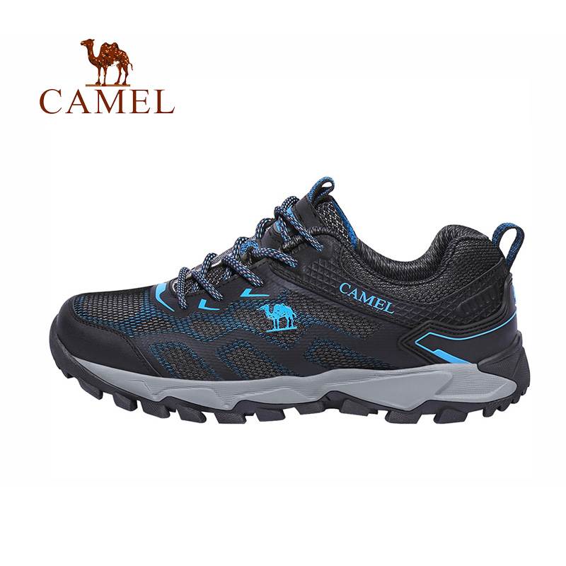 CAMEL Men Summer Air Mesh Outdoor Hiking Shoes Breathable Shock Absorption Lightweight Walking Climbing Excursion Sneakers camel men summer air mesh outdoor hiking shoes breathable shock absorption lightweight walking climbing excursion sneakers
