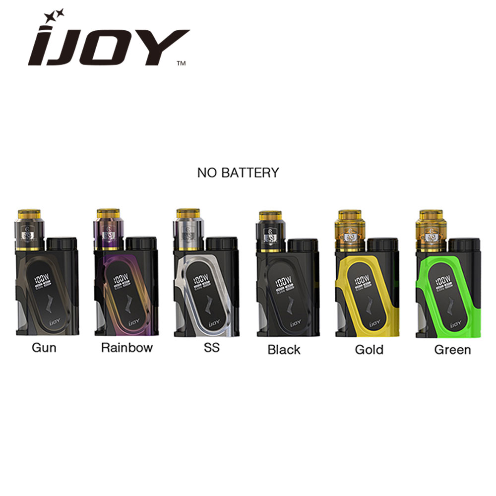 Original IJOY CAPO 100W 20700 Squonker Kit Max Output 100W with CAPO 20700 Squonk MOD & 9ml COMBO RDA Triangle Atomizer Vape Kit цена