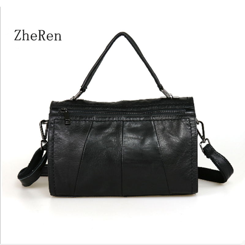 The first layer of leather scrap leather stitching casual Handbag Shoulder Bag Messenger Bag Leather handbag leather pillow bag vintage crossbody bag military canvas shoulder bags men messenger bag men casual handbag tote business briefcase for computer