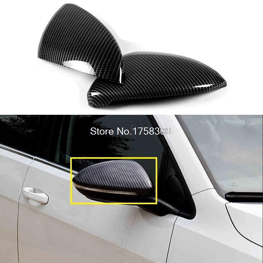 2pcs car rearview mirror refiting for 2013 2015 vw. Black Bedroom Furniture Sets. Home Design Ideas