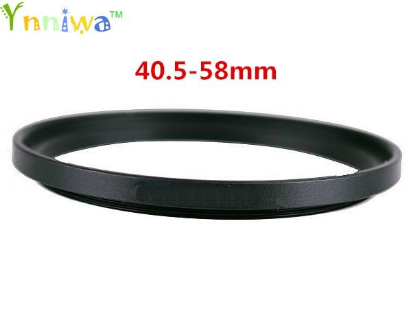 40.5-58mm Metal Step Up Rings Lens Adapter Filter Set