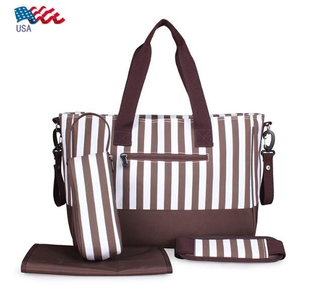 Multifunctional Mummy Mama Bag Maternity Baby Diaper font b Handbag b font Pregnancy Tote Shoulder Bags