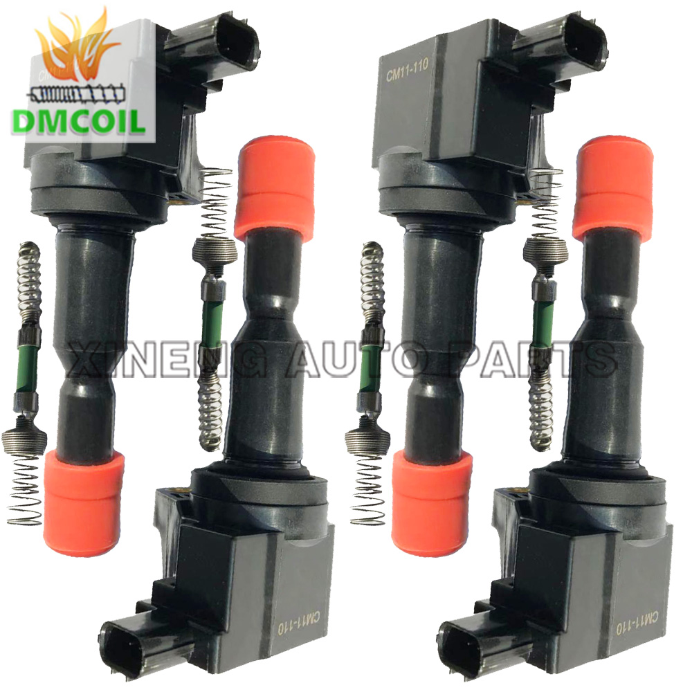 4 PCS IGNITION COIL FOR HONDA AIRWAVE FIT II JAZZ 1 3L 1 5L 2002 30520