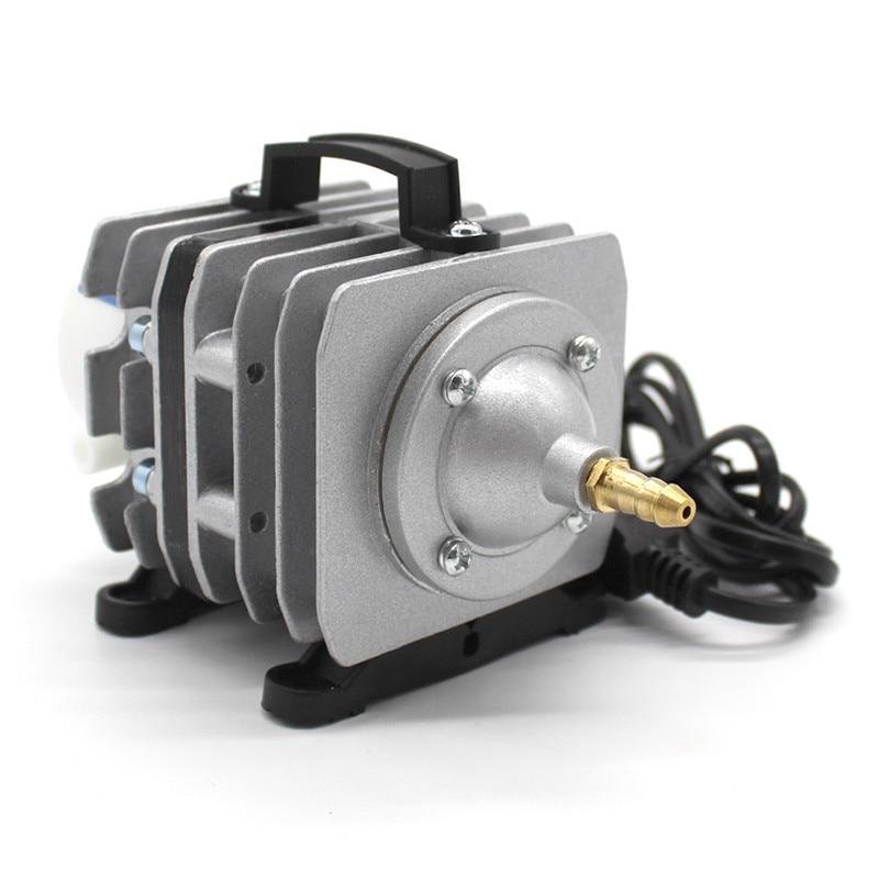 Pompe à oxygène augmentant la pompe de remplissage d'oxygène électromagnétique pompe à Air fournitures d'aquarium d'aquaculture pompe à oxygène d'étang