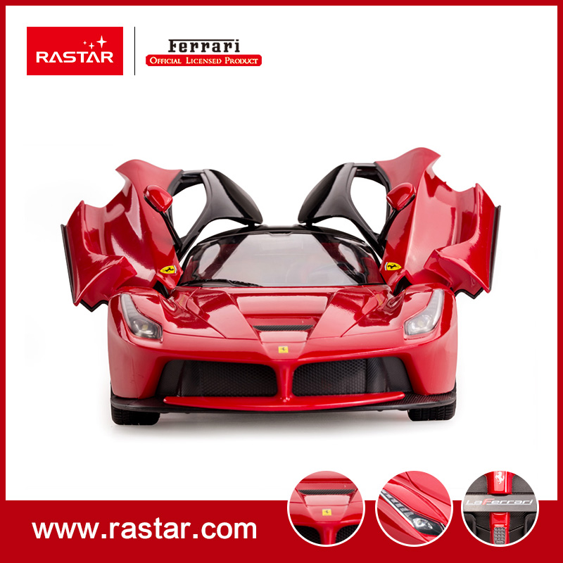 Rastar Licensed Ferrari Laferrari New Style Rc Car Walk Toys 4 Channel Remote Control Expansion For Children 50100 In Cars From Hobbies