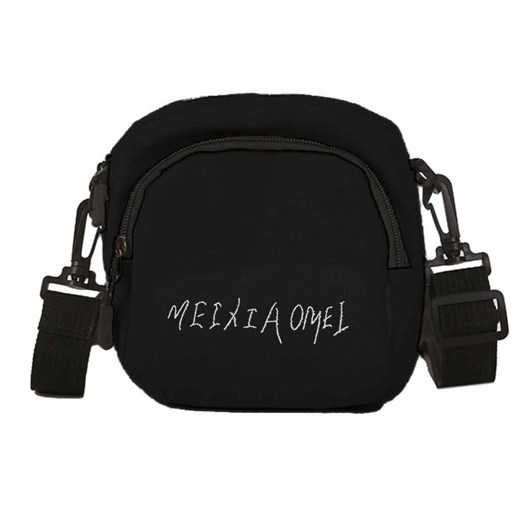 Kanvas Kecil Crossbody Tas untuk Wanita Tas Selempang Bahu untuk Wanita 2019 Fashion Kasual Wanita Tas Tangan Bolsa Feminina