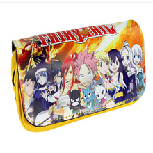 Anime FAIRY TAIL Makeup Cosmetic Travel Bag Pen Case Pencil Pouch