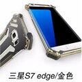 Metal case para samsung galaxy s7 r-apenas à prova de choque de metal de alumínio case capa para samsung galaxy s7 edge