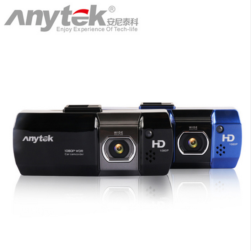 Original new Anytek Novatek 96650 Car DVR Full HD 1080P/148 Wide Angle Vehicle Car Camera+G-Sensor/WDR/Night Vision Function36 full hd 1080p vehicle blackbox dvr with g sensor