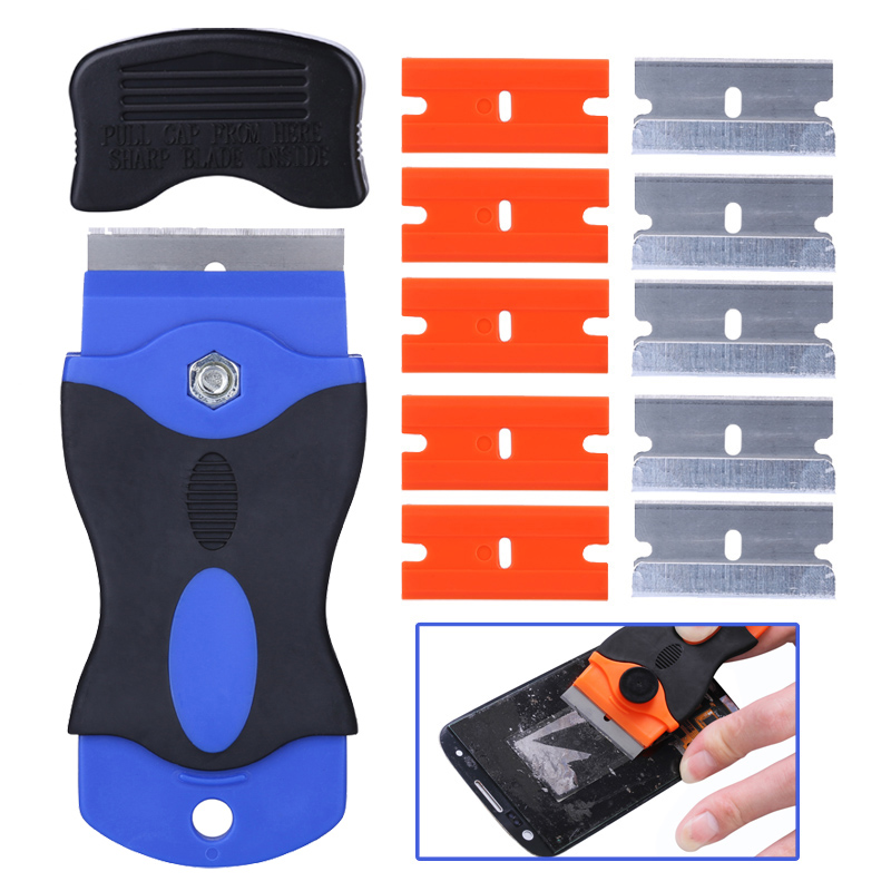 UV Glue Remover Scraper Knife For Phone LCD Touch Screen Residue Adhesive Cleaning For Mobile Phone Repair Tool