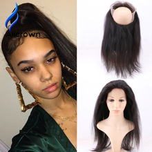 360 Lace Frontal Brazilian 360 Lace Virgin Hair Best Lace Frontals Full Lace Closure Top Customized Frontal With Baby Hair