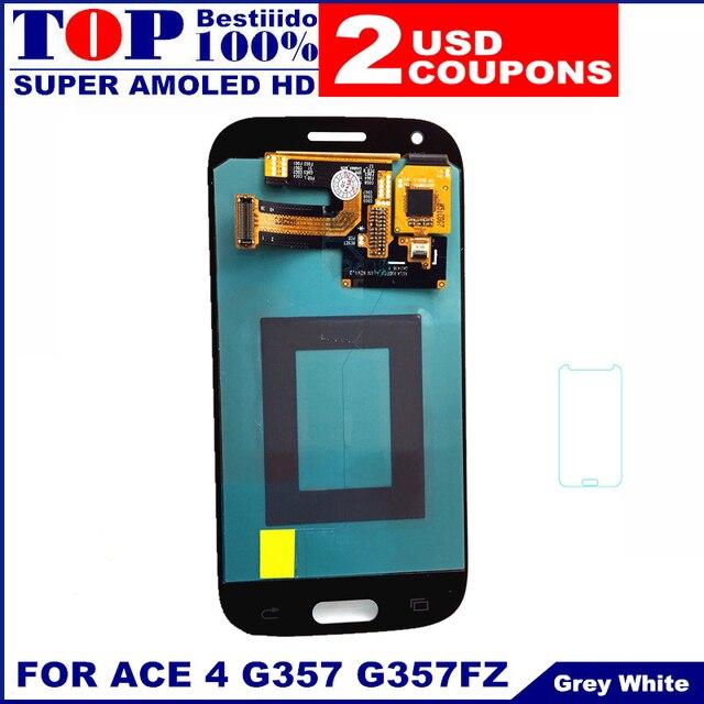 Pour Samsung Galaxy Ace 4 SM G357 G357FZ Lassemblee De Convertisseur Analogique