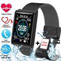 Intelligente Fitness Uomini Della Vigilanza Tracker Heart Rate di Pressione Sanguigna Sonno Monitor Per IOS e Android Impermeabile Schermo a Colori Smarwatch N98