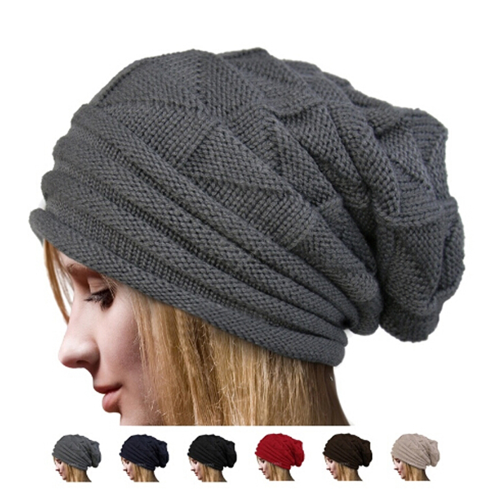 2018 Fashion Women's Winter Hats Triangle Diamond-shaped Beanies Autumn Winter Knit Cap Headwear Caps Warm Hat Bonnet Do You Want To Buy Some Chinese Native Produce?
