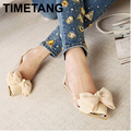 2015 new spring summersweet women flats,pointed sequined toe with big bowtie shoes for women,cansual shoes free shipping
