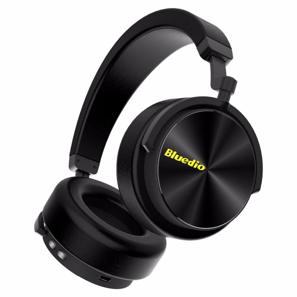 Bluedio T/5 bluetooth headphone Active Noise Cancelling headset with microphone for phones and music earphone