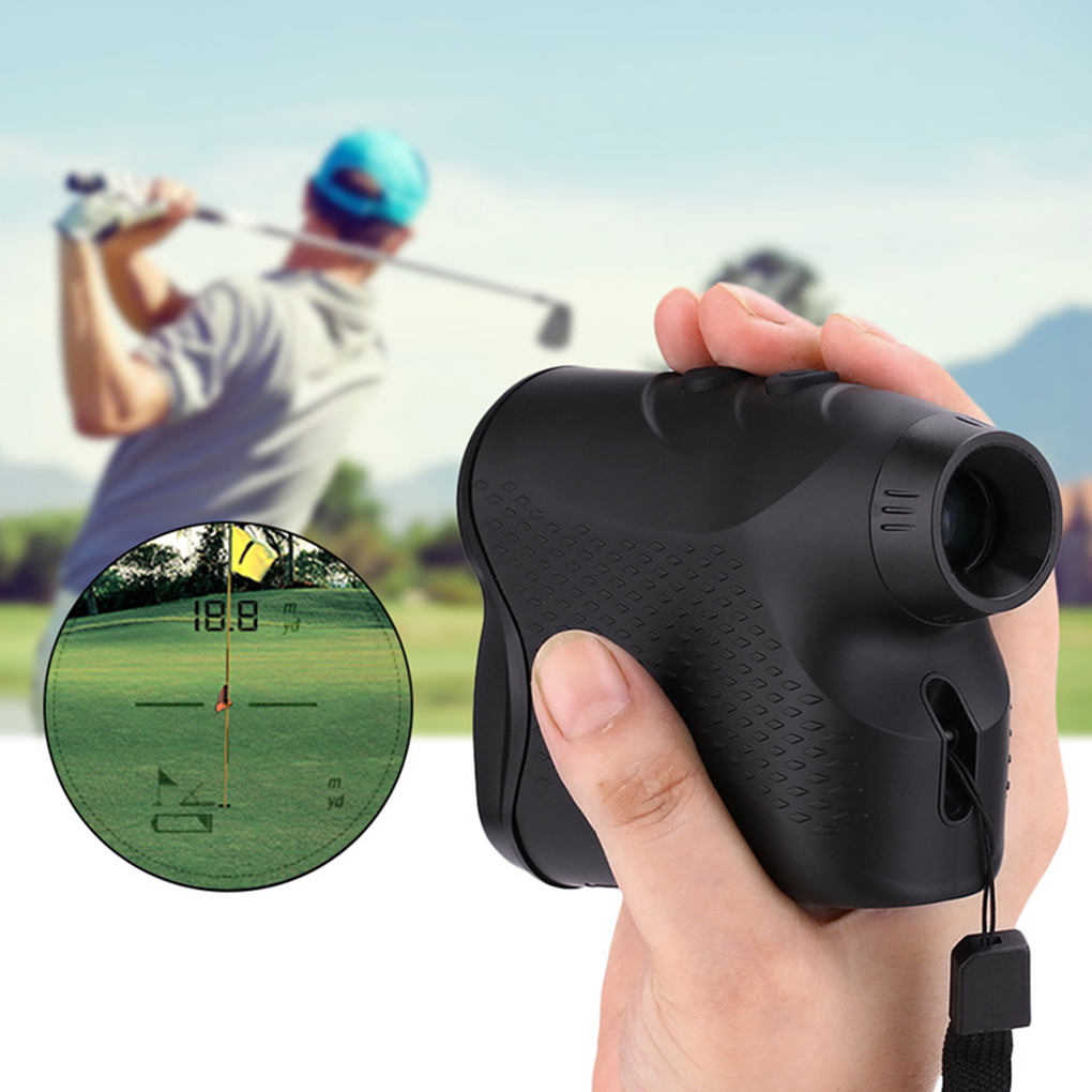 New Telescope Rangefinders Distance Meter Digital 6X 600M Monocular Hunting Golf Range Finder Tape Measure 5pcs by dhl fedex telescope laser rangefinders distance meter digital 900m monocular hunting golf range finder tape measure