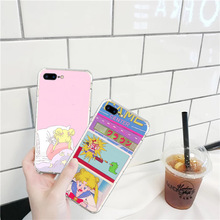 Sailor Moon Anime Phone Cases Cover for iphone X XR XS MAX 6 6s 7 8 Plus TPU Cover Coque For iphone 7 8Plus iphone 5SE Cases rick and motry phone cases cover for iphone x xr xs max 6 6s 7 8 plus tpu cover coque for iphone 7 8plus iphone 5se cases