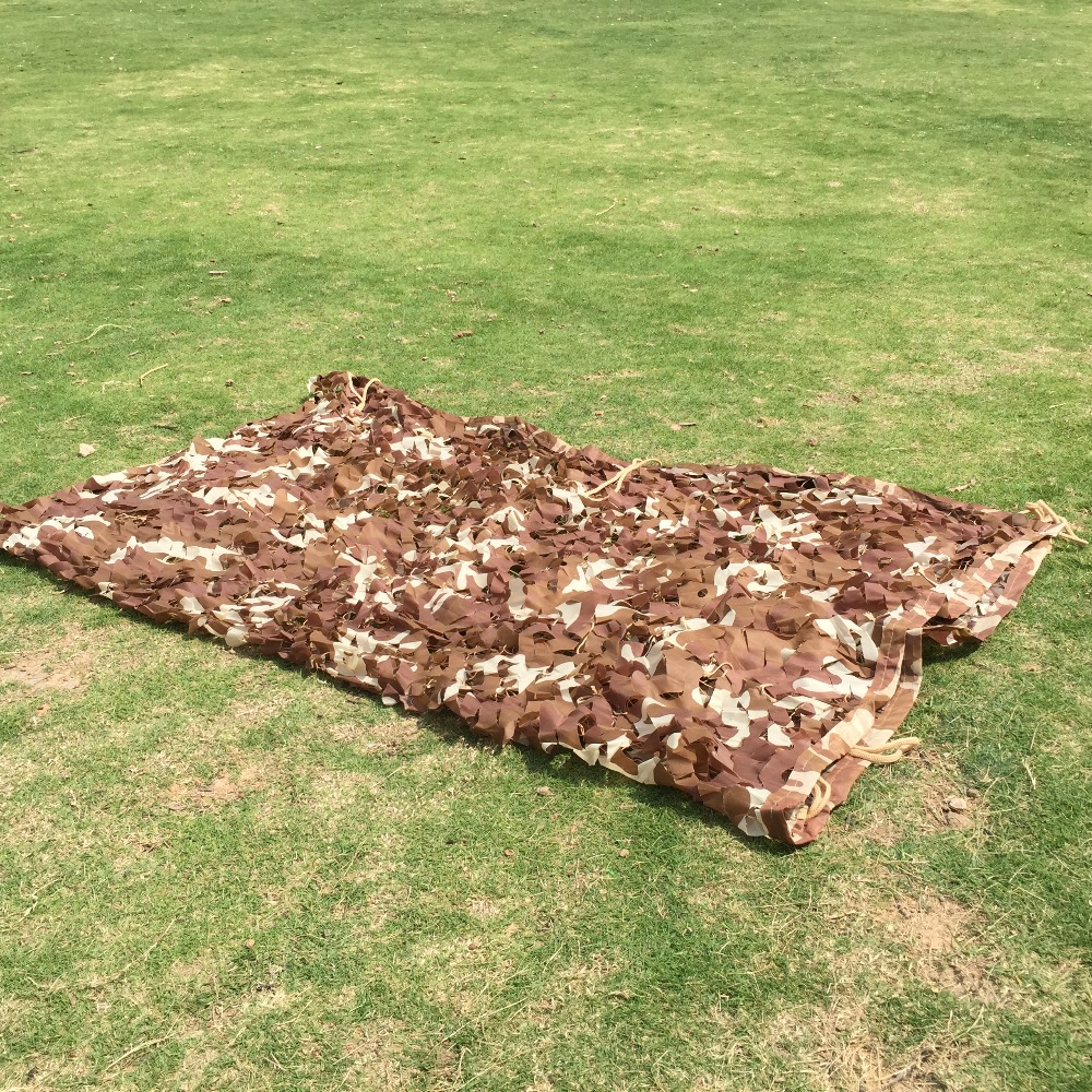 3.5* 5m desert Camouflage net Camo Hunting Camping Military Photography camo net Sun Shelter Jungle Blinds Car covers net free shipping camouflage net camo 2 3m sun shelter jungle blinds car covers for hunting camping military outdoor