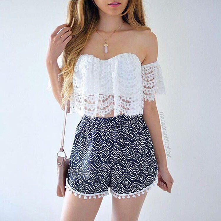 0304fc1989a80 2017 new ladies camisole white lace bralette sexy tank tops shoulder ...