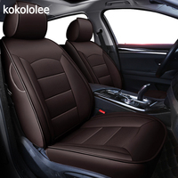 kokololee custom real leather car seat covers set For opel astra h g j insignia vectra b meriva vectra c mokka auto accessories