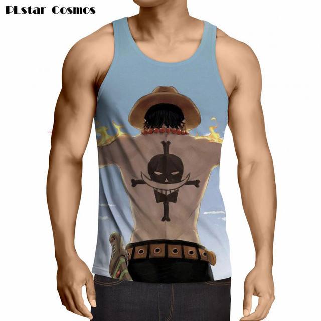 One Piece Men Vest Tank Tops