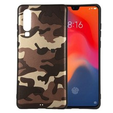 Fashion brand green hard case Army Camo Camouflage Skin Case for huawei P30 Plus