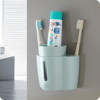 Suction wall type toothbrush holder is detachable