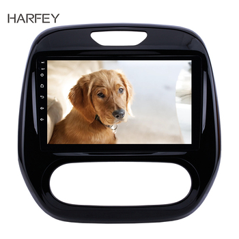 Harfey 9 Car Stereo Android 8.1 GPS for Renault Captur CLIO 2011 2012 2013-2016 Samsung QM3 Manual A/C support Bluetooth AUX image