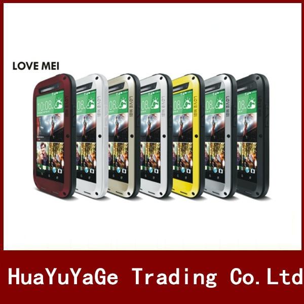 bilder für LIEBE MEI Leistungsstarke Metal Case Luxus Aluminium Dirt Wasserdicht Stoßfest abdeckung für HTC EINS M8 E8 M9 A9 M10 Desire 820