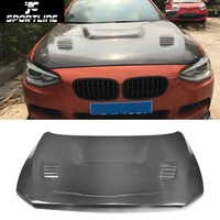 car styling carbon fiber auto front engine bonnets hood cover for BMW F20 2012 2015