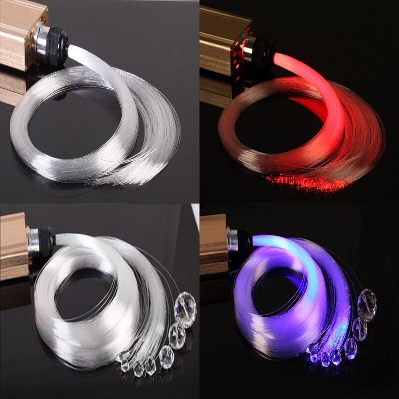 Meter price 0.5mm PMMA plastic end glow ceiling star light fiber ...