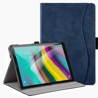 "galaxy tab BOZHUORUI smart cover case for Samsung Galaxy Tab s5e 10.5"" Tablet SM-T720 SM-T725 Stand Hand Strap,for samsung tab s5e case (1)"