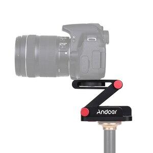 Image 4 - Andoer New Z hình Nhanh Chóng Phát Hành Tấm Có Thể Gập Lại Máy Ảnh Desktop Chủ Đầu Nghiêng cho Canon Nikon Sony DSLR Pentax Video Slider