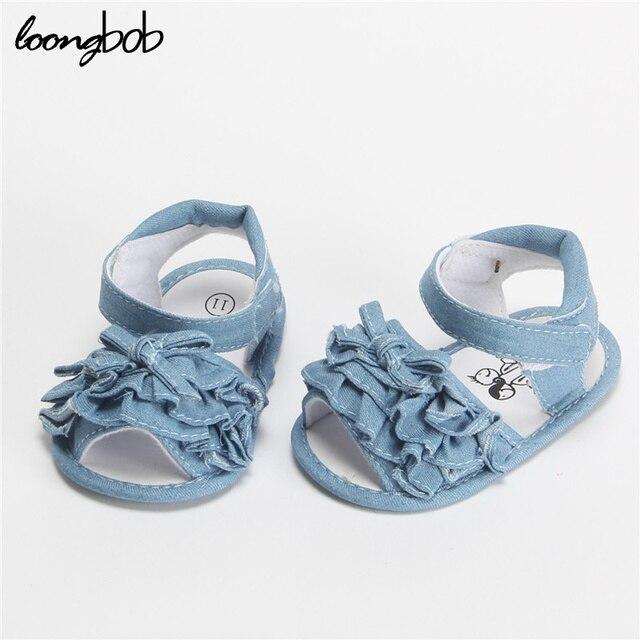 Chaussures bébé arc de dentelle tout-petits chaussures bébé chaussures bébé vieux 0-1 ans, 13 cm