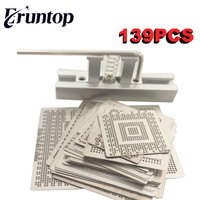 Freeshipping For Laptop 139 Pcs Set Bga Reballing Stencil Template Kit